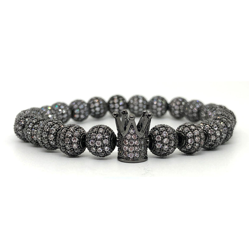 Draco Crystal Beaded Bracelet - Ouro Goods