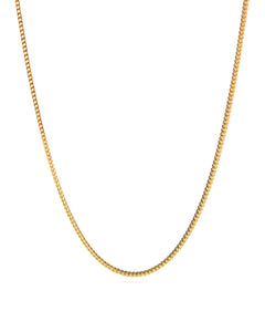 Franco Chain 2.5mm - Ouro Goods