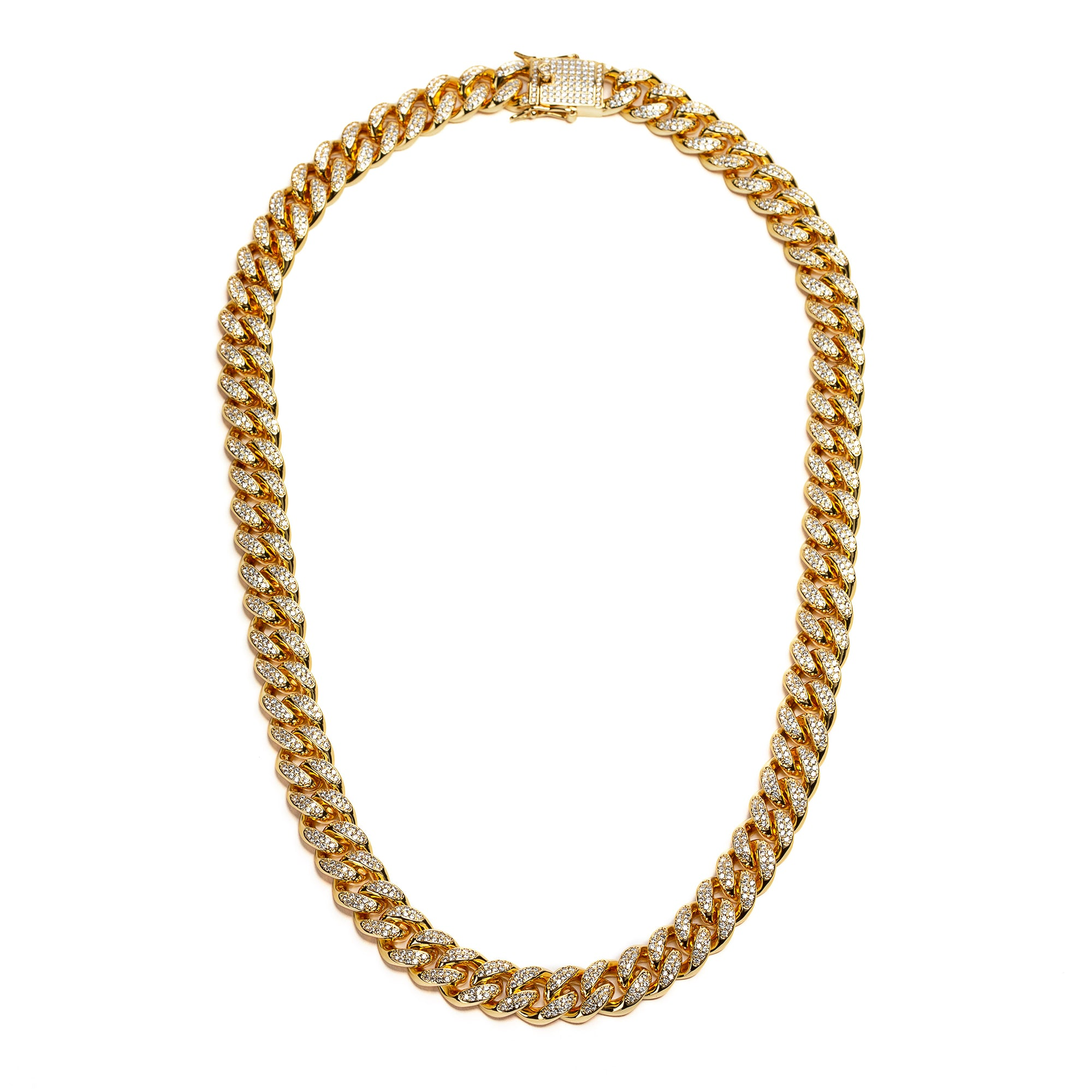 Pluto Diamond Cuban Link 22""