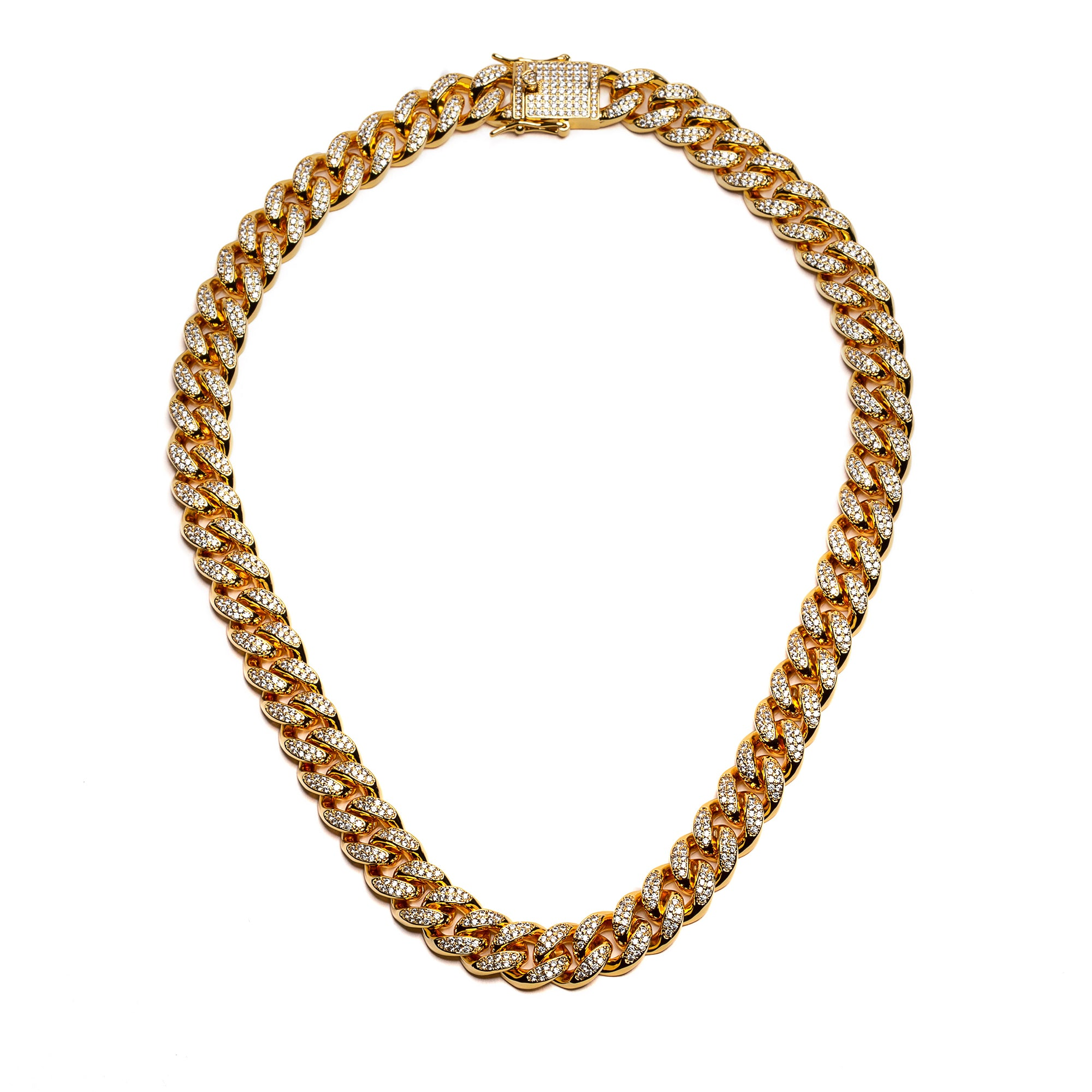 Pluto Diamond Cuban Link 18""