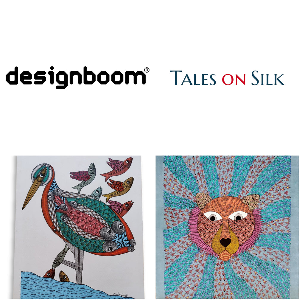 designboom Article on TalesOnSilk