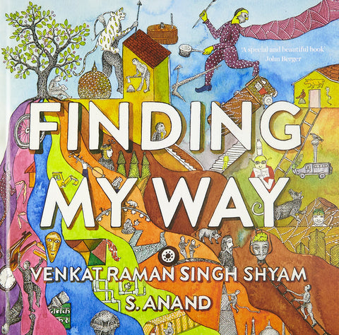 Finding my way book cover. Image credit: Amazon