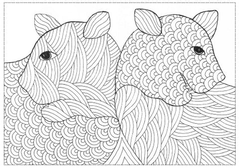 Magic for the Soul Colouring book inside