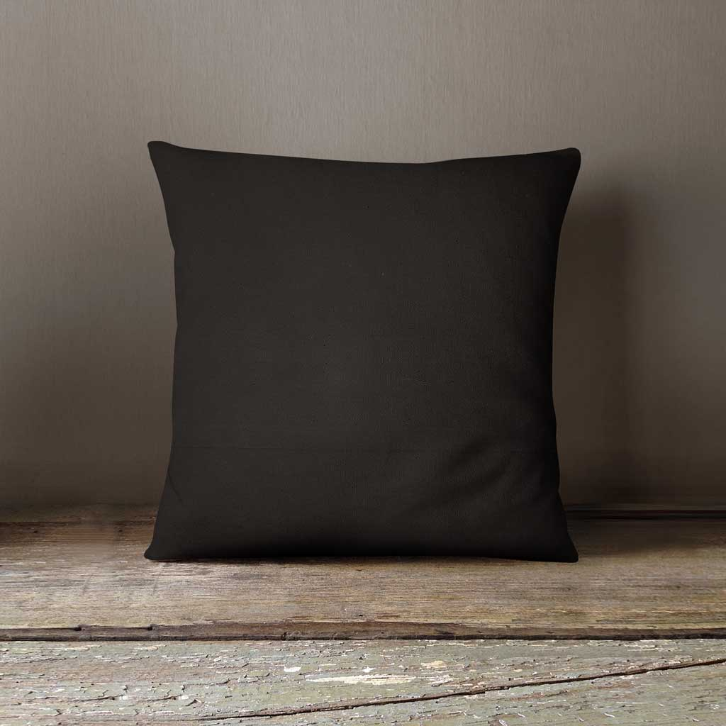 black cushion cover back