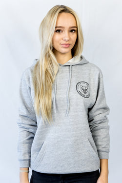 Discover The World Hoodie Grey