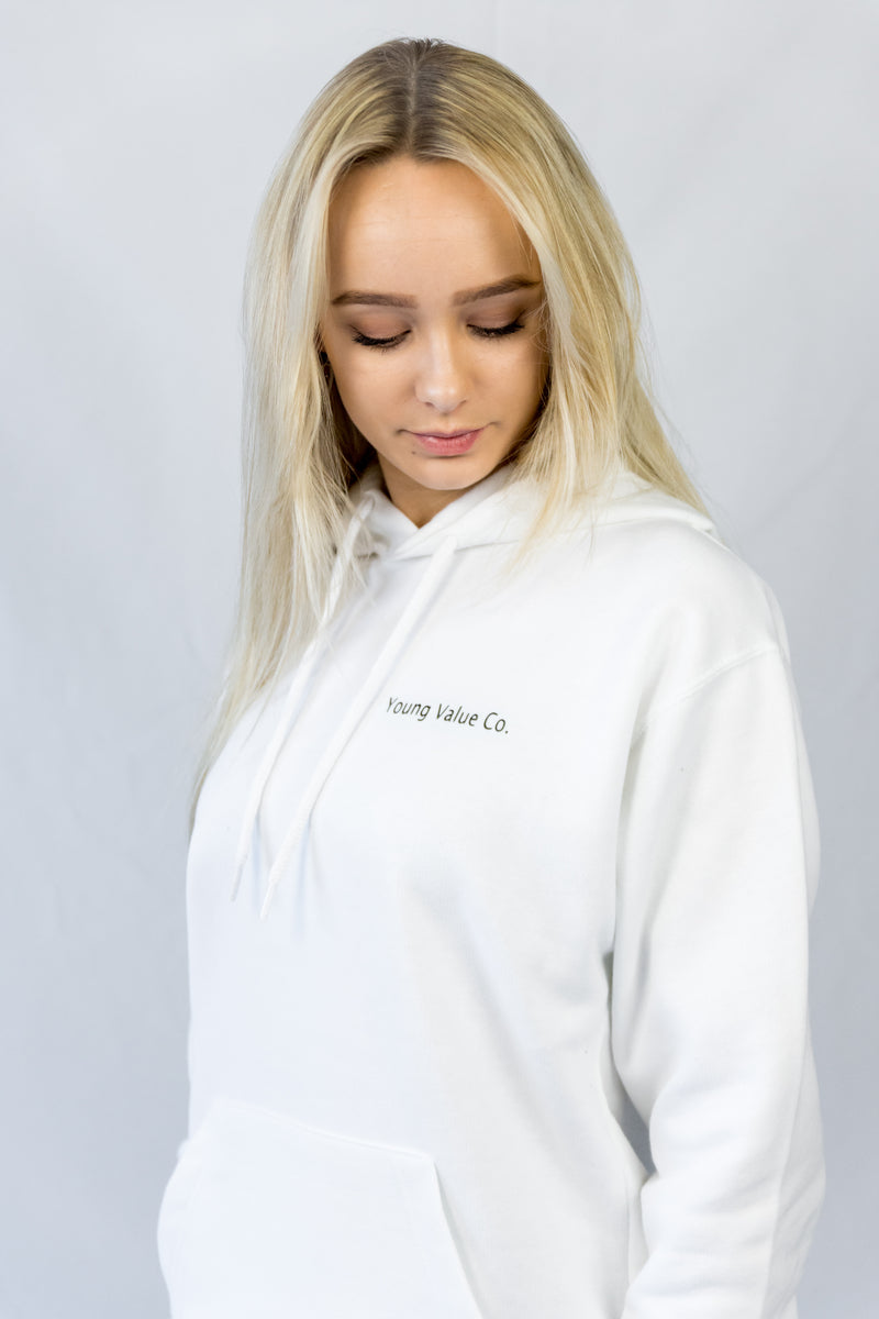 Young Value Co Hoodie White