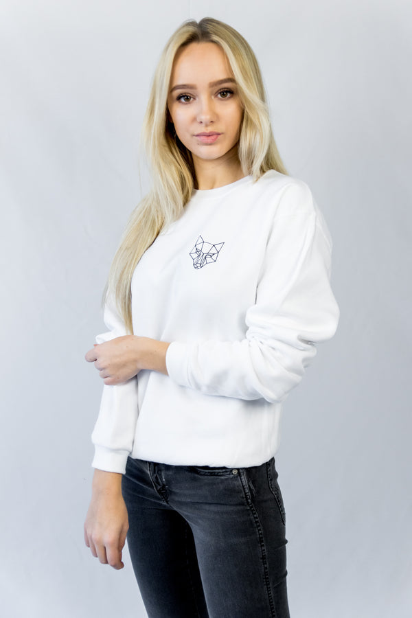 Young Value's Classic Sweatshirt White