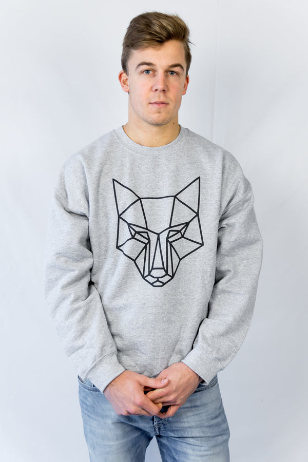 Young Value's Classic Large Logo Sweatshirt Grey