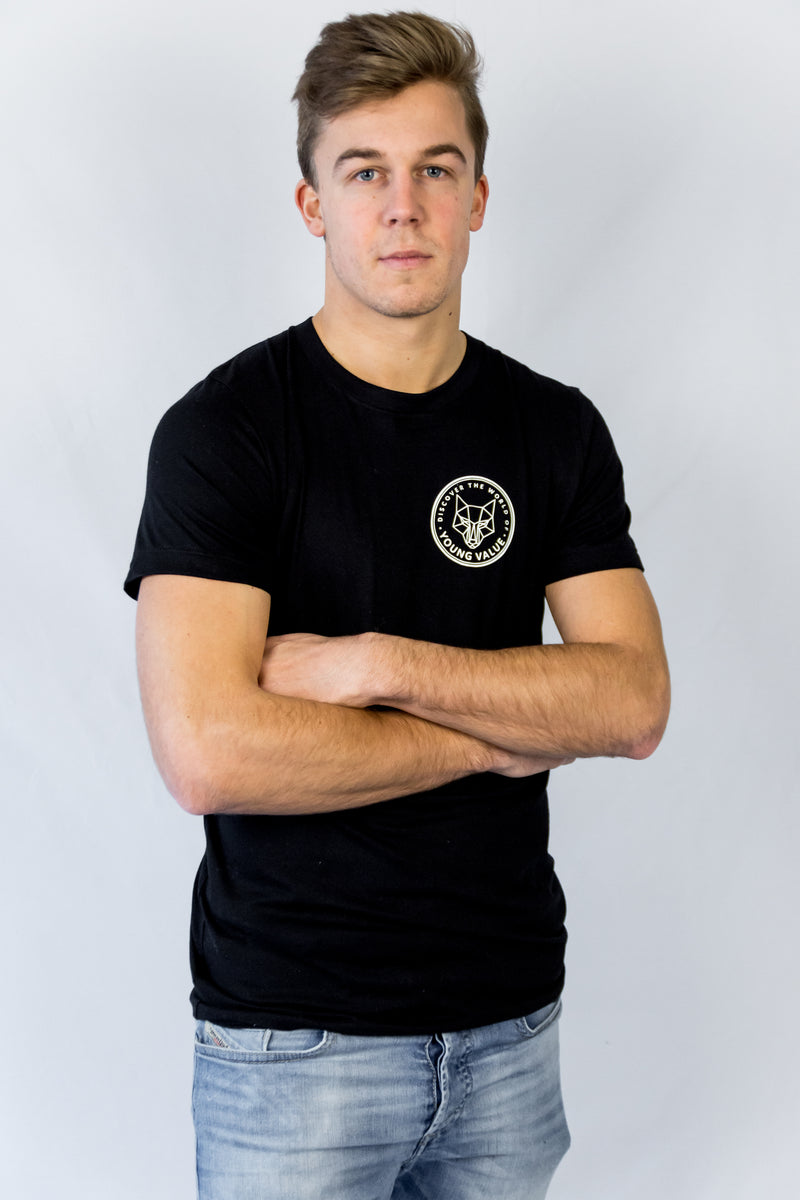 Discover The World T-shirt Black