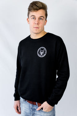 Discover The World Sweatshirt Black