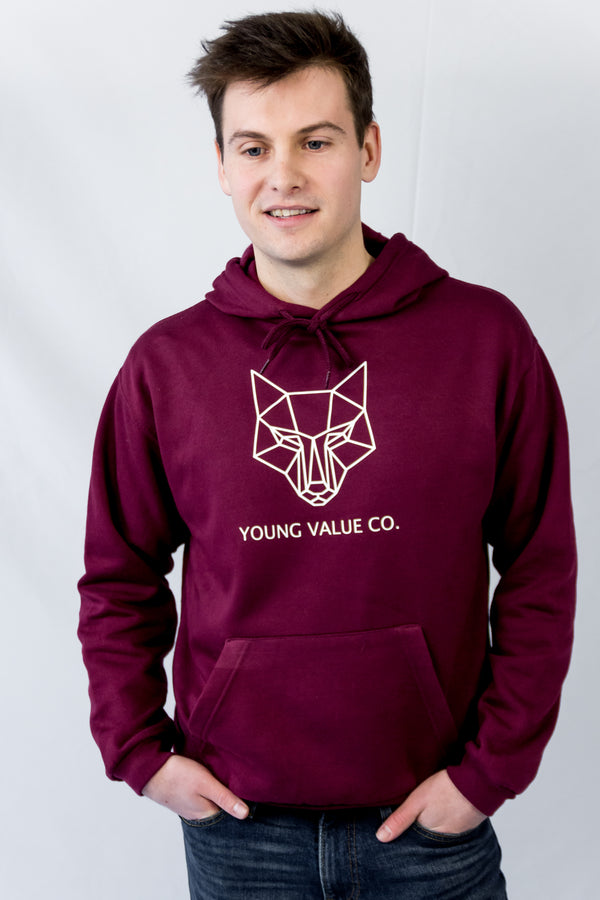 Young Value's Classic Large Logo Maroon