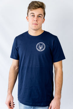 Discover The World T-shirt Navy