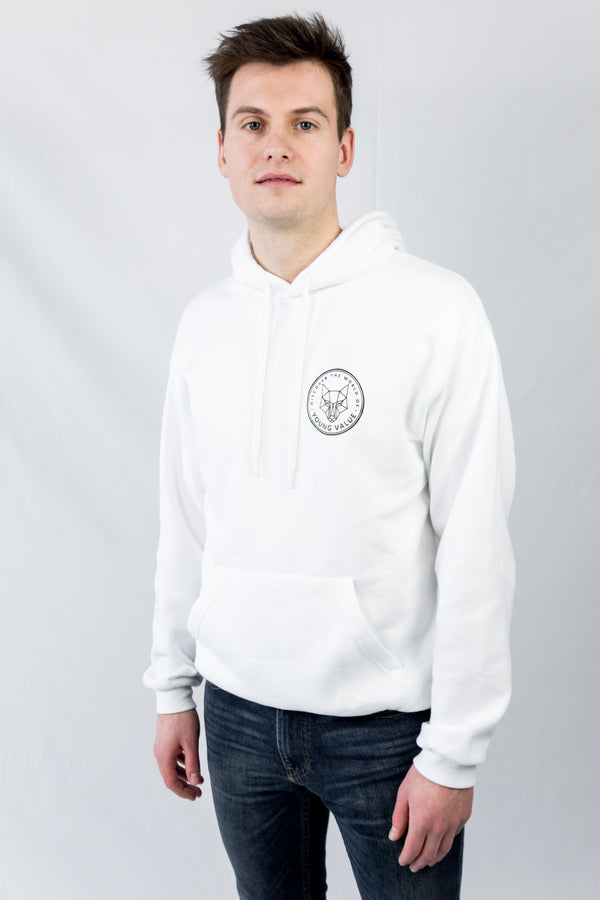 Discover The World Hoodie White