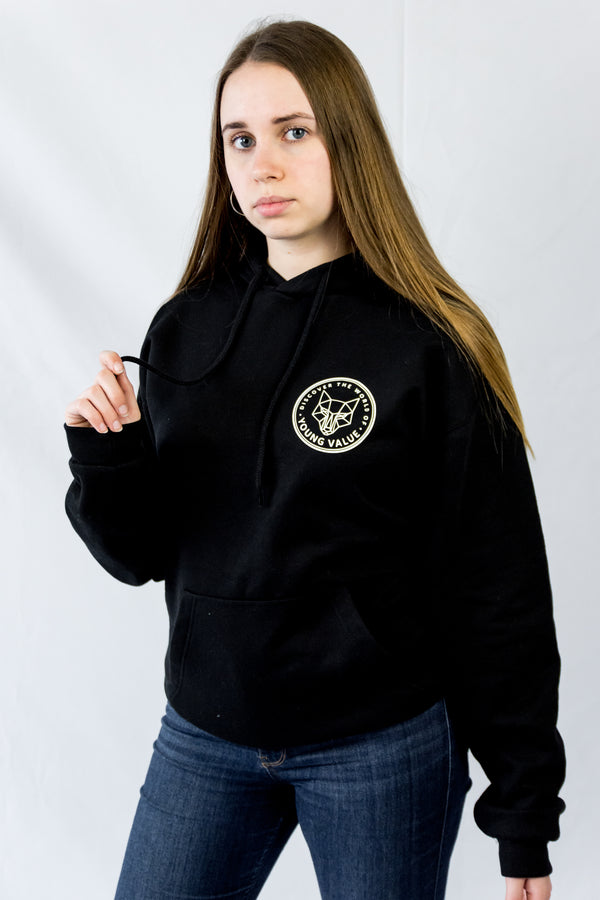Discover The World Hoodie Black