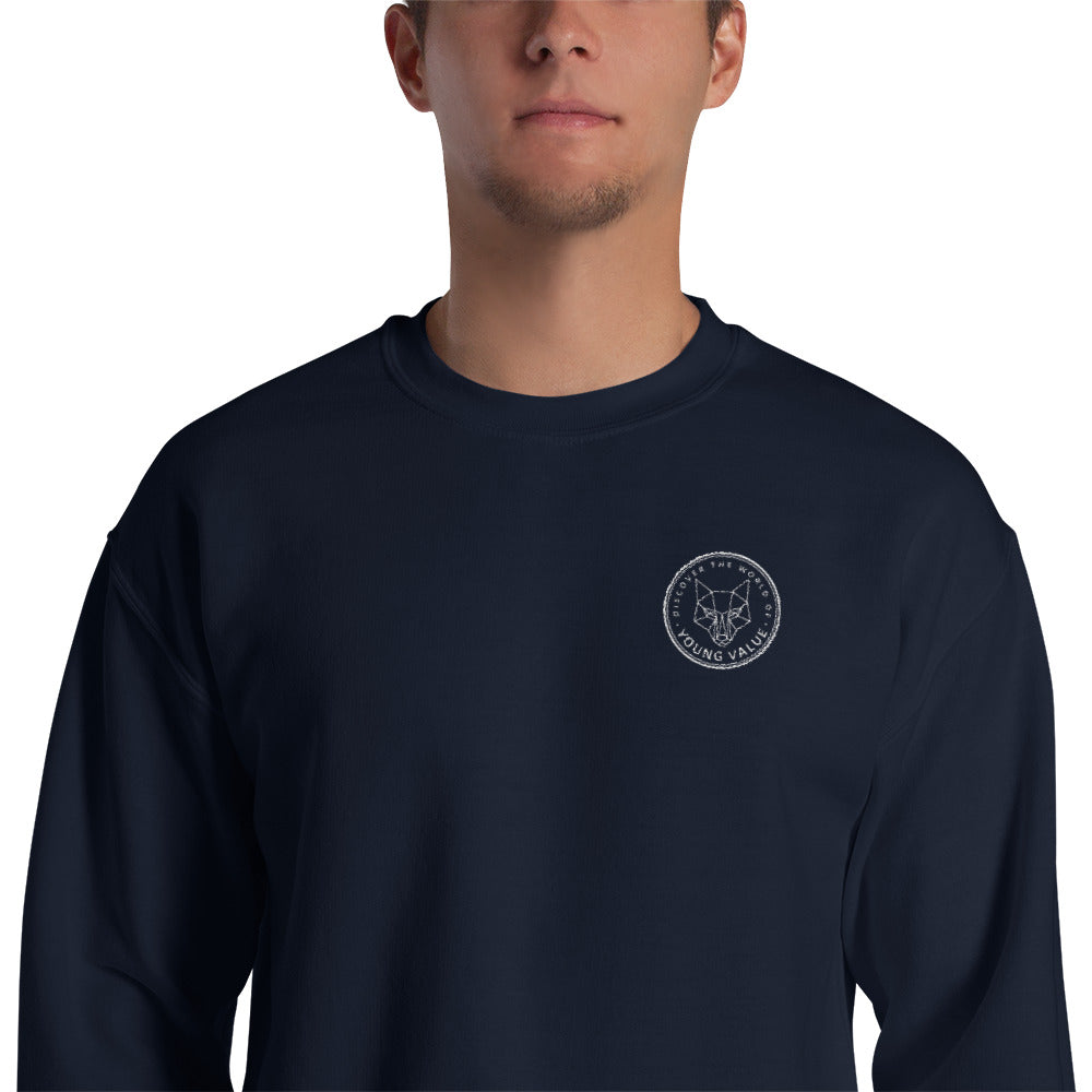 Discover The World Sweatshirt Navy