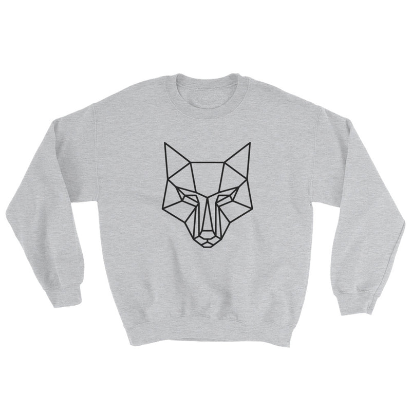 Large Logo sweatshirt grey - youngvalueco