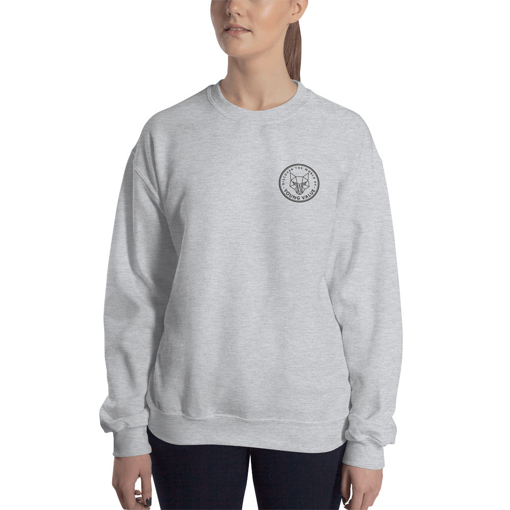 Discover The World Sweatshirt Grey
