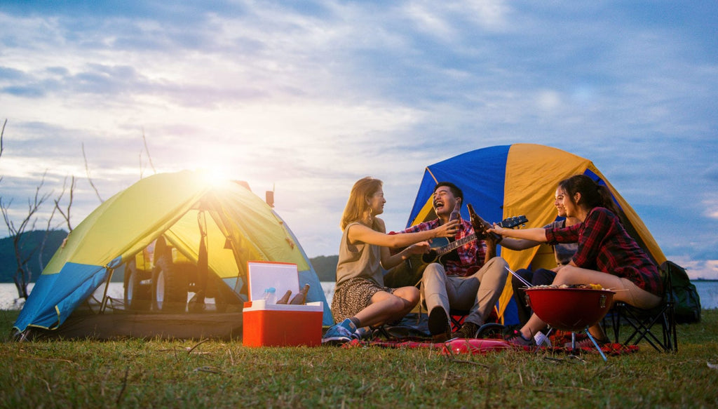 10 Easy Ways To Beat The Heat When Camping in the Summer