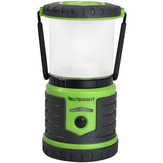 outbright camping lantern forest green