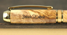 Load image into Gallery viewer, Methuselah 18K Gold plate fountain pen
