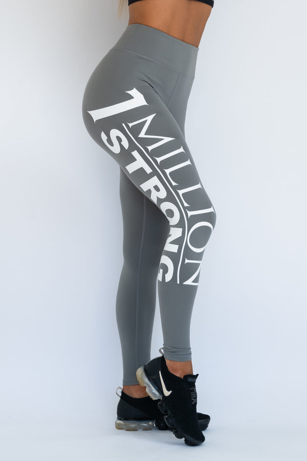 1 Million Strong Tights - Grey