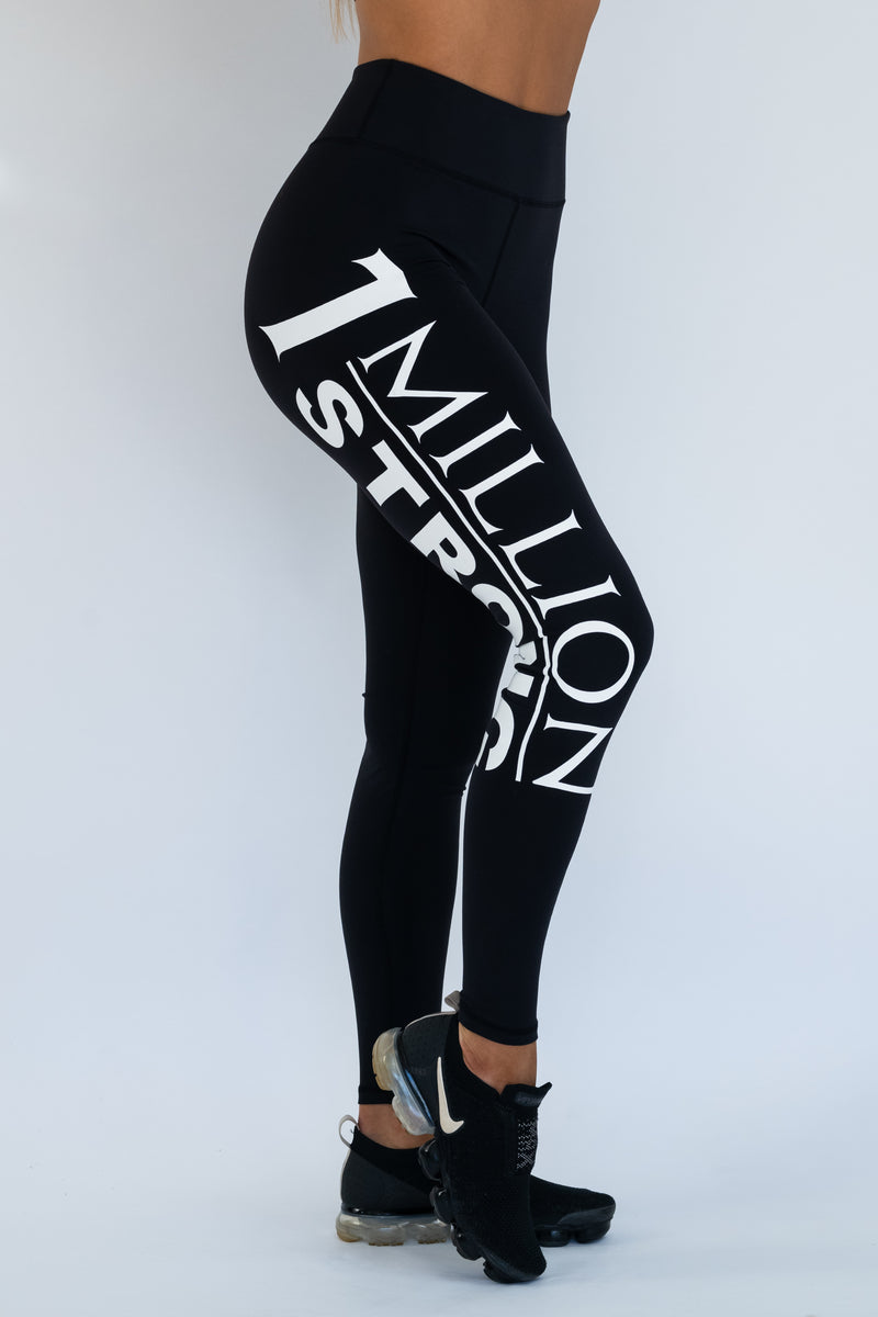 1 Million Strong Tights - Black