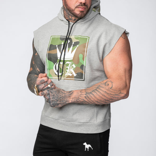 Criminal Muscle Sleeveless Flop Hoodie