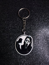 Load image into Gallery viewer, Ghostface Circle Keychain