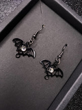 Load image into Gallery viewer, Bat Earrings