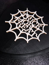 Load image into Gallery viewer, Trick Or Treat Spiderweb Heart