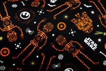 Load image into Gallery viewer, Spooky Droids Pillow (Glow in the dark)