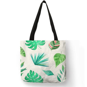 Sac motif tropical
