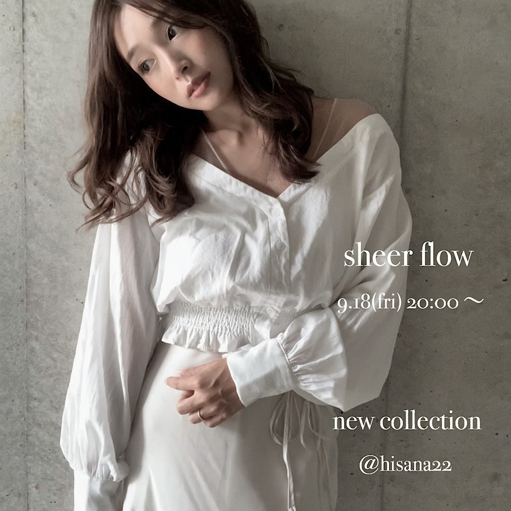 【SHEER flow】HISANA direction line ♡