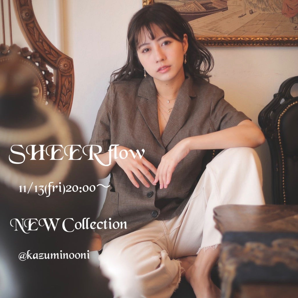 【SHEER flow】 VANESSA PAN  ♡NEW Collection♡