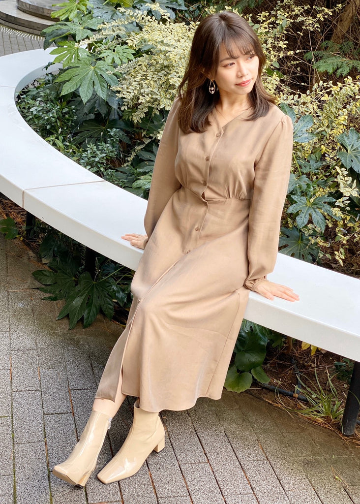 Classical shirt one-piece[SH-239]
