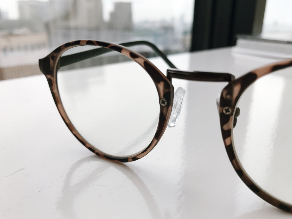 Marble frame glasses-UV400- [SH-122]