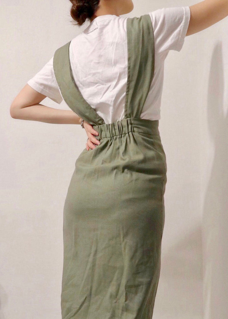 Salopette wrap skirt [SH-169]