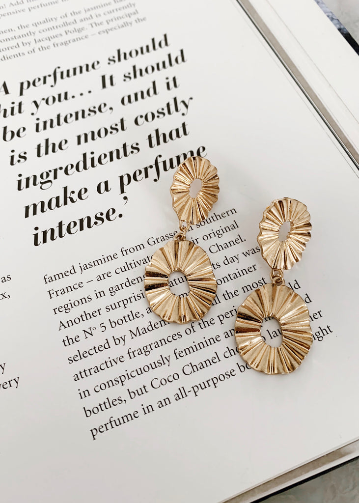 Two radial pierces / earrings