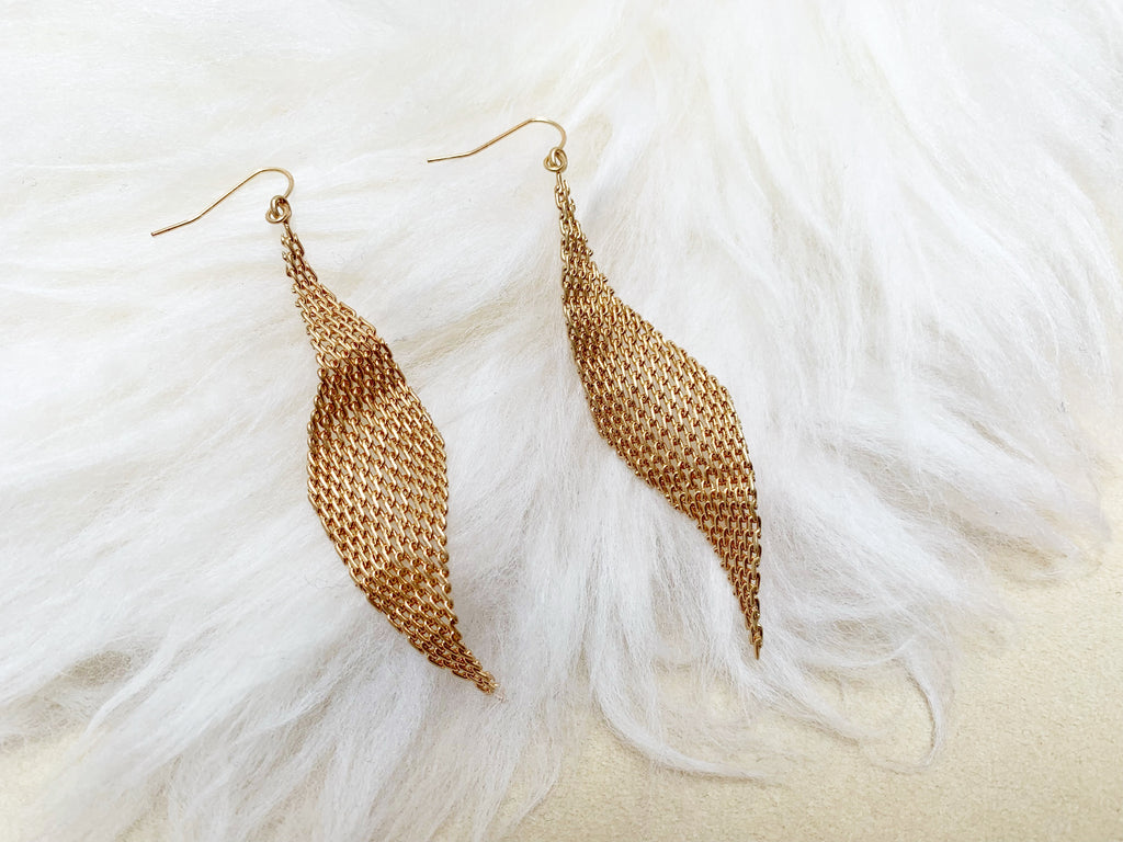 Mesh pierce/earrings