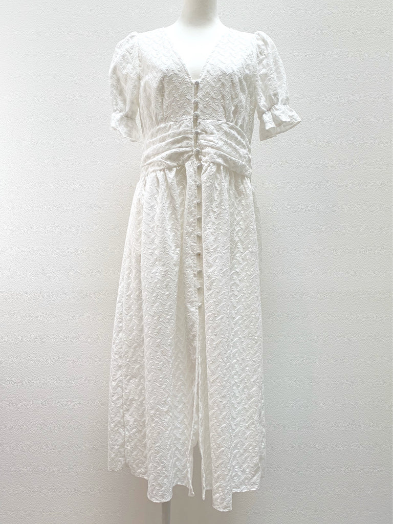 Cotton lace one-piece