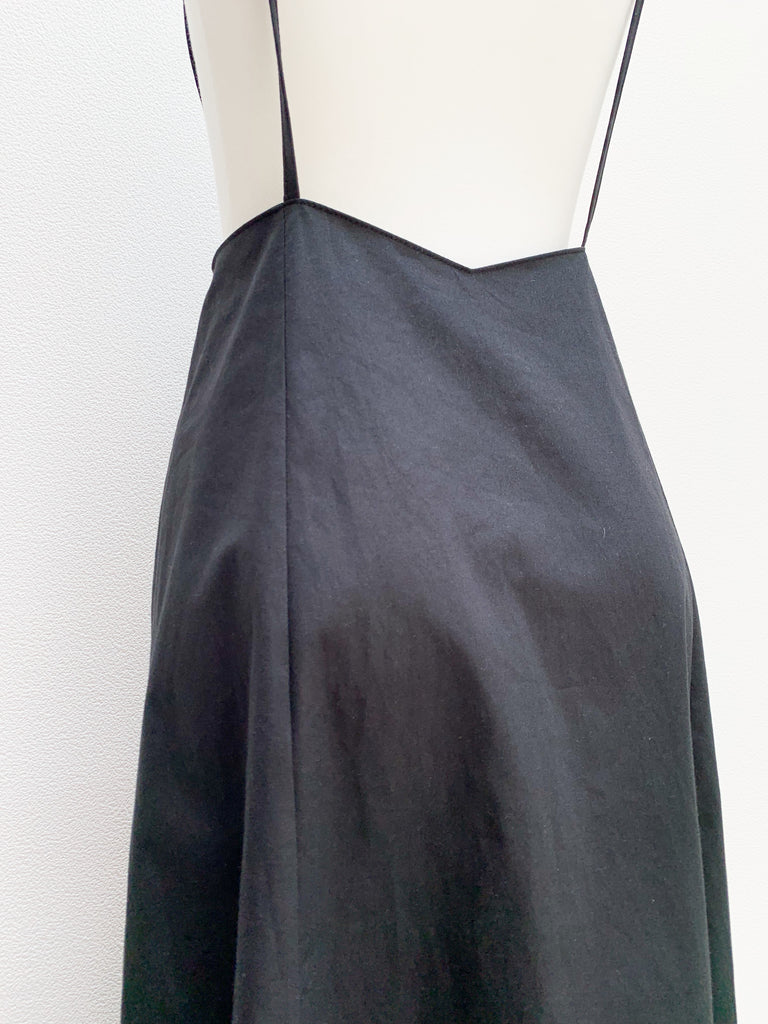 Shirring shoulder skirt [SH-165]