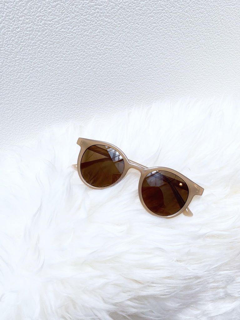 Round color sunglasses
