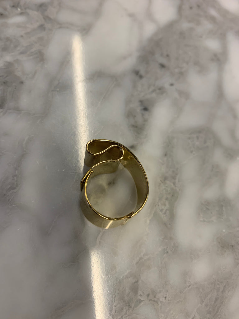 Gold band Ring SH-AC41