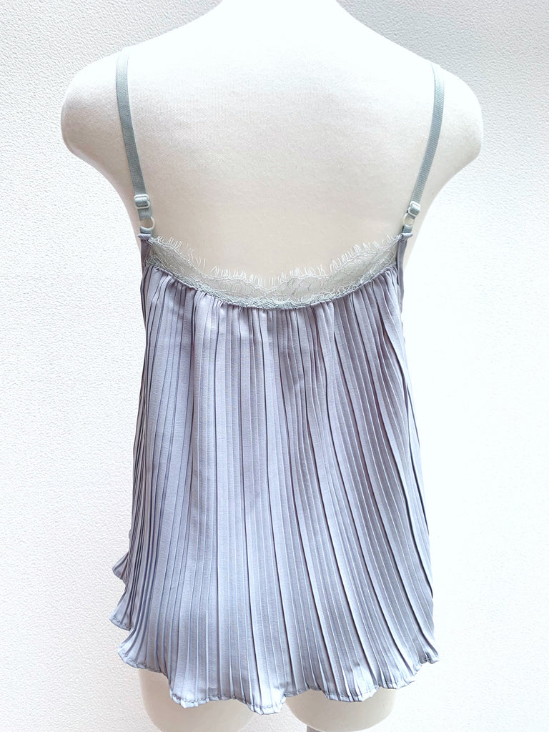 Pleated lace camisole [SH-168]