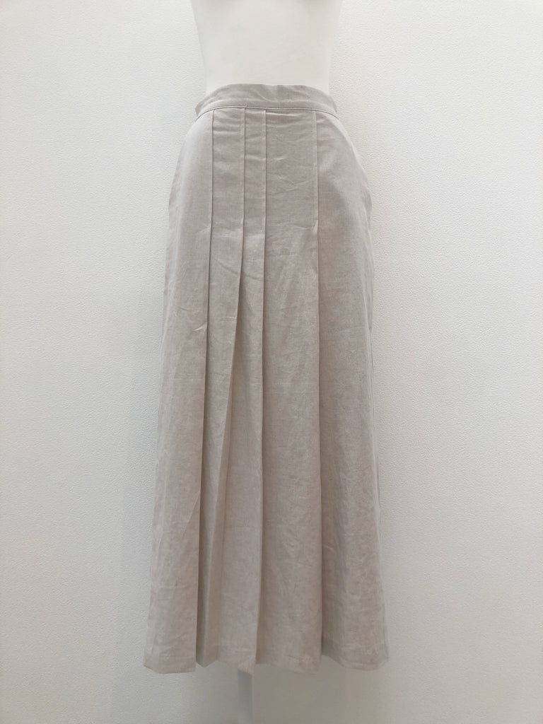 Pleated wide pants[SH-141]