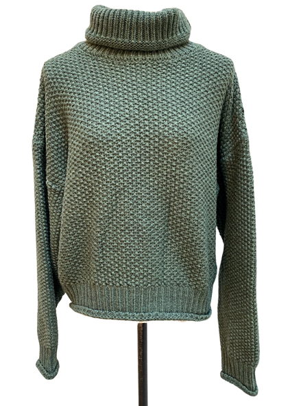 Turtle knit pull over [SH-229]