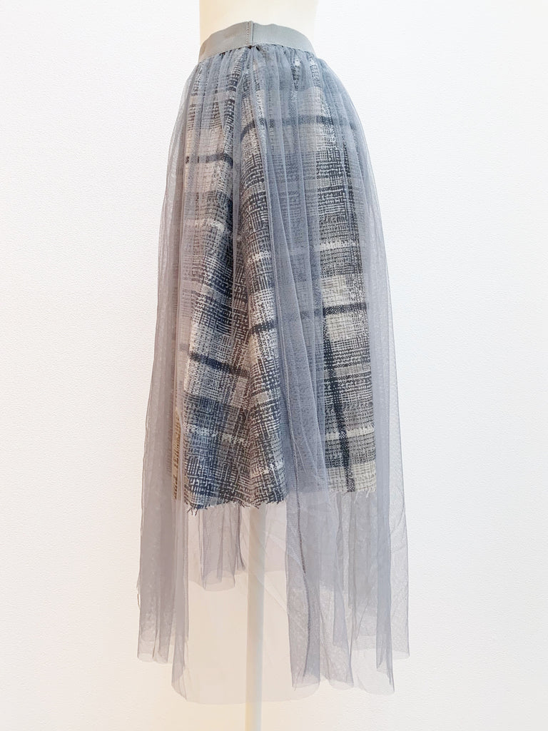 Docking tulle skirt