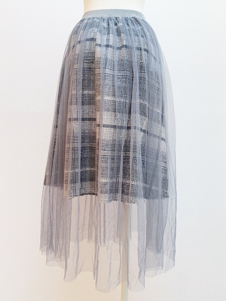 Docking tulle skirt [SH-198]