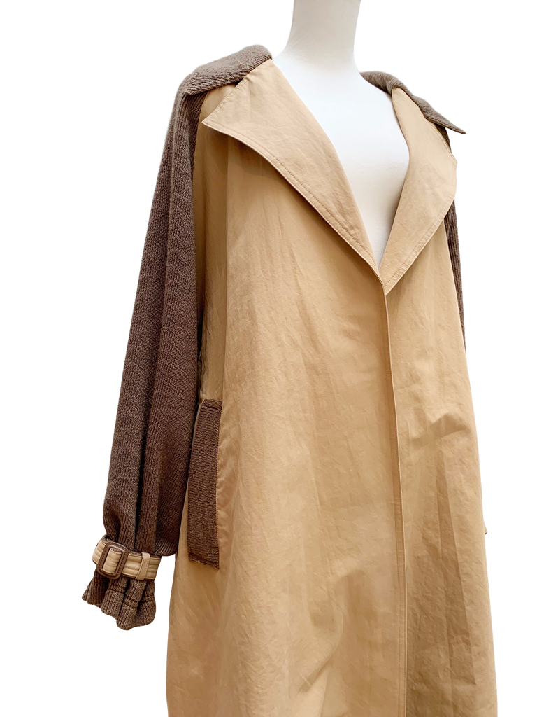 Docking over trench coat