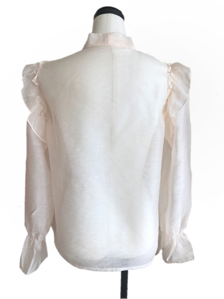 Sheer classical blouse